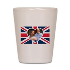 Royal Baby - William Kate Shot Glass