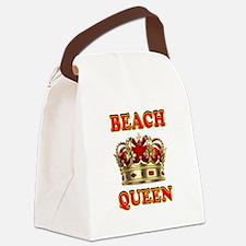 BEACH QUEEN Canvas Lunch Bag