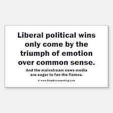 No Sense Liberals Sticker (Rectangle 10 pk)