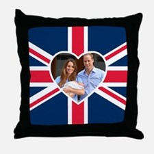 Royal Baby - William Kate Throw Pillow