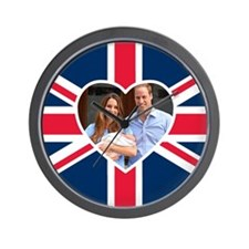 Royal Baby - William Kate Wall Clock