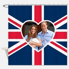 Royal Baby - William Kate Shower Curtain