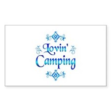 Lovin Camping Decal