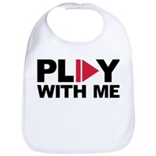 Play with me music Bib