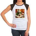 Attwell 6 Women's Cap Sleeve T-Shirt