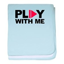 Play with me music baby blanket