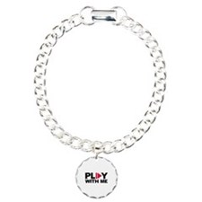 Play with me music Charm Bracelet, One Charm