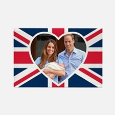 Royal Baby - William Kate Rectangle Magnet