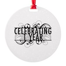 Celebrating 1 Year Ornament