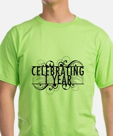 Celebrating 1 Year T-Shirt