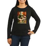 Attwell 6 Women's Long Sleeve Dark T-Shirt