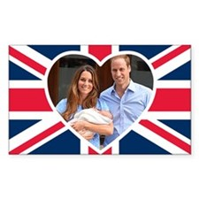 Royal Baby - William Kate Bumper Stickers