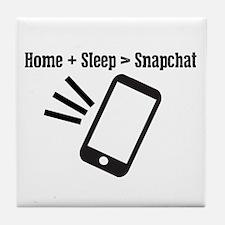 Iphone app parody Tile Coaster