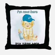 Im New Here Throw Pillow