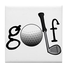 Golf Tile Coaster
