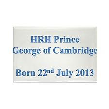 HRH Prince of Cambridge Rectangle Magnet