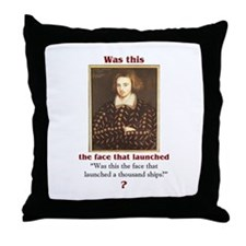 Kit Marlowe Throw Pillow