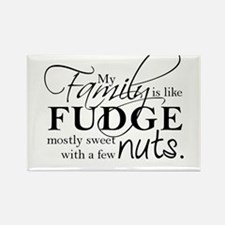 My family is like fudge... Rectangle Magnet