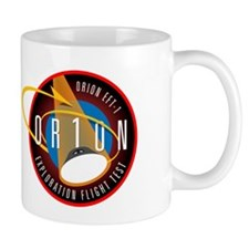 Exploration Flight Test 1 Mug