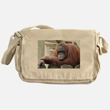 Orangutan: Strike a pose Messenger Bag