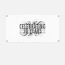Celebrating 10 Years Banner