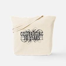 Celebrating 10 Years Tote Bag