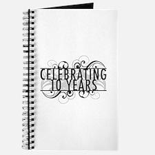 Celebrating 10 Years Journal