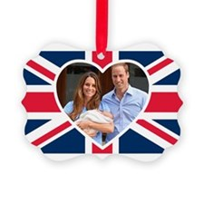 Royal Baby - William Kate Ornament