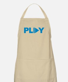 Play button music Apron
