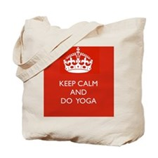 Keep Calm and Do Yoga Tote Bag