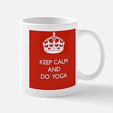 Keep Calm and Do Yoga Mug