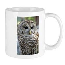 Barred Owl: Who are you??? Mug