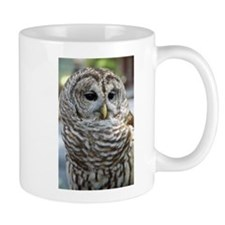 Barred Owl: Who are you??? Mug