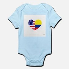 Colombian-American Infant Body Suit