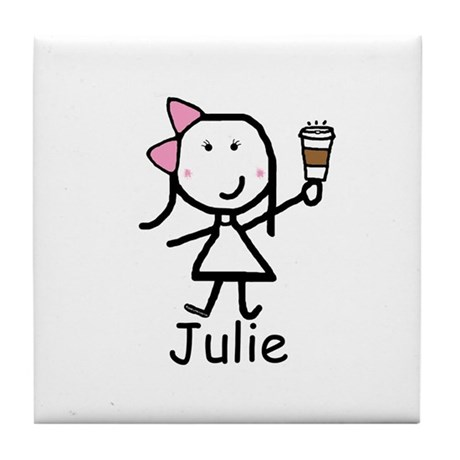Coffee - Julie Tile Coaster