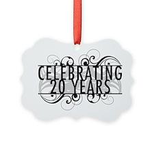 Celebrating 20 Years Ornament