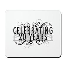 Celebrating 20 Years Mousepad
