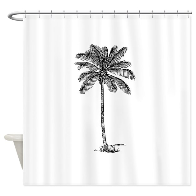 Palm Tree Shower Curtain By Shannysshowoffshirts