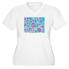 dots Plus Size T-Shirt