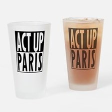 Act Up-Paris Drinking Glass