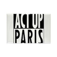 Act Up-Paris Rectangle Magnet