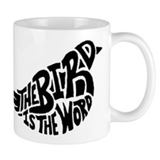 The Bird is the Word Small Mug