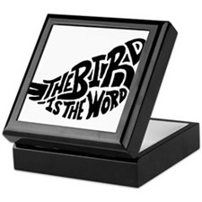 The Bird is the Word Keepsake Box