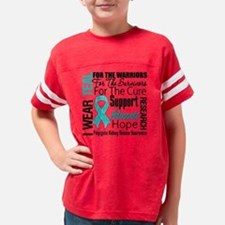 Polycystic Kidney Disease Youth Football Shirt