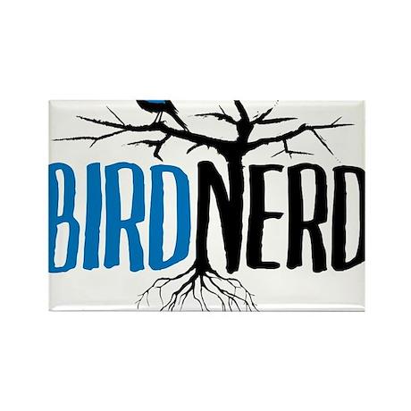 Bird Nerd Rectangle Magnet