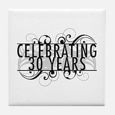 Celebrating 30 Years Tile Coaster