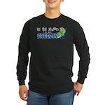 Season to be Freezin' Long Sleeve Dark T-Shirt