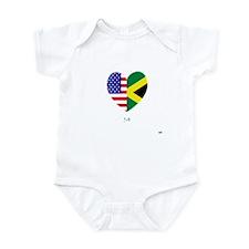 Jamaican-American Infant Bodysuit