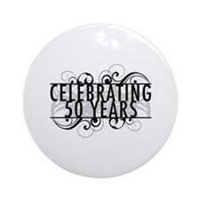 Celebrating 50 Years Ornament (Round)