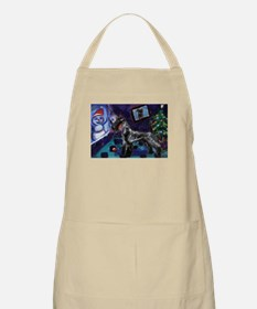 KERRY BLUE xmas BBQ Apron